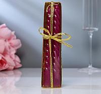 Свечи восковые витые набор 2 шт ароматические высота 15 см