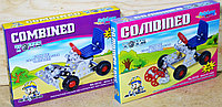 531ABCD Конст металл Combined toys 4вида 22*16см, фото 1