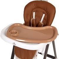 Стульчик для кормления Polini kids 440, коричневый