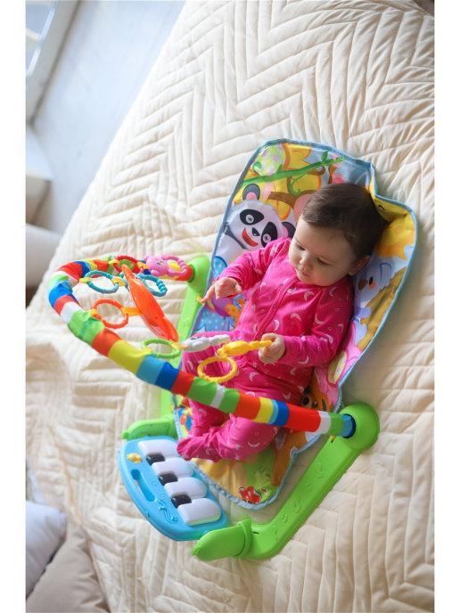 Детский гимнастический коврик Tapis - фото 4