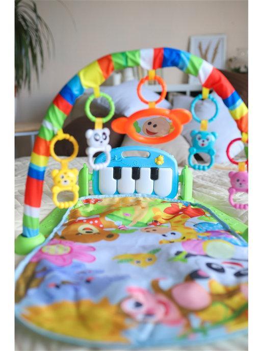 Детский гимнастический коврик Tapis - фото 3