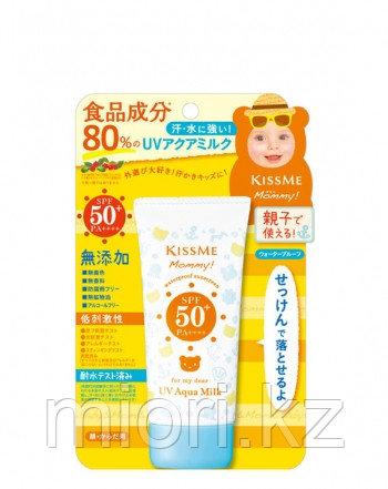 Детский солнцезащитный крем MOMMY UV Aqua Milk 50 гр., Isehan