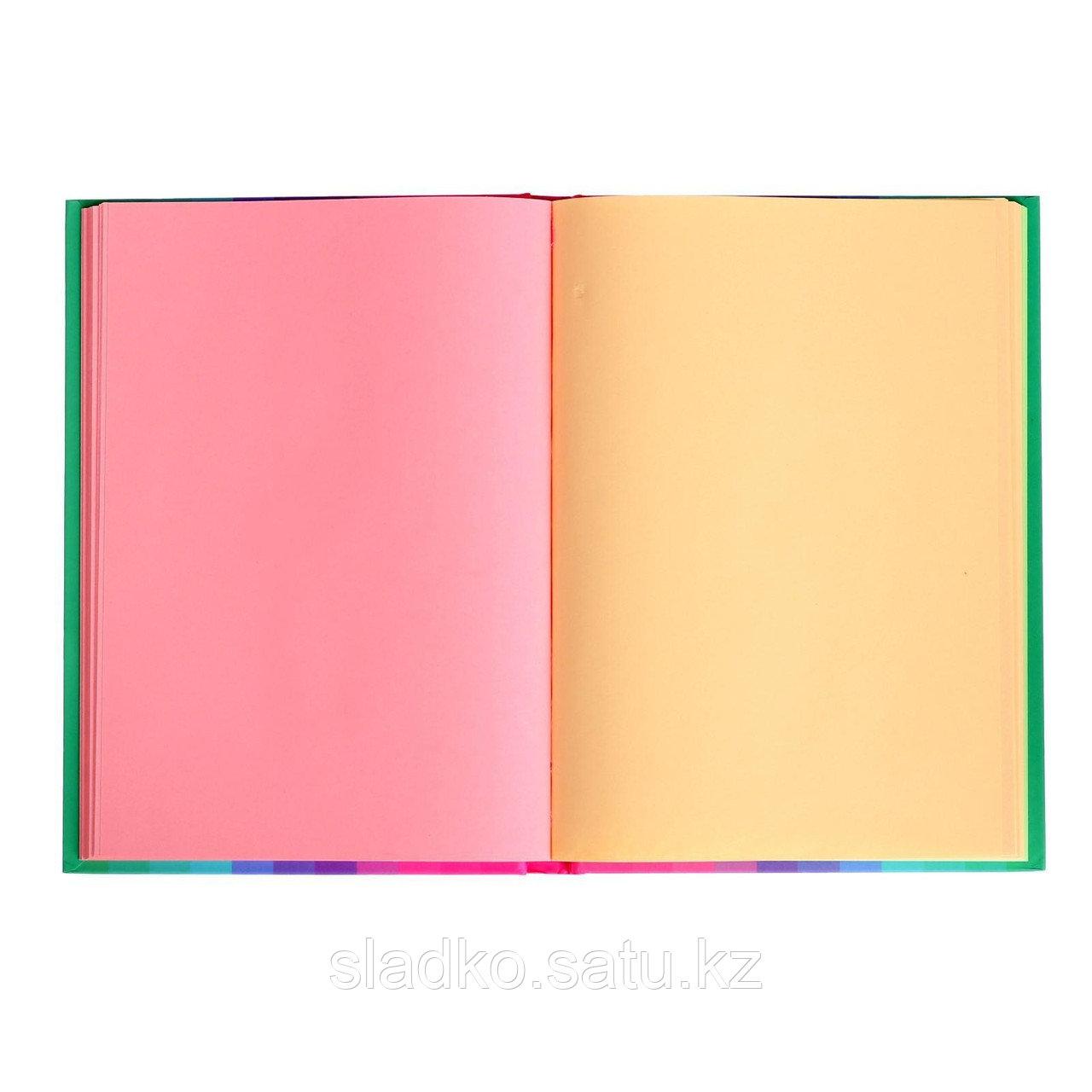Ежедневник Скетчбук For notes твёрдая обложка А5 120 листов 21 х 15 см - фото 2