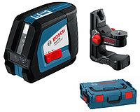 Линейный лазерный нивелир Bosch GLL 2-50 + BM1 (новый) + L-Boxx