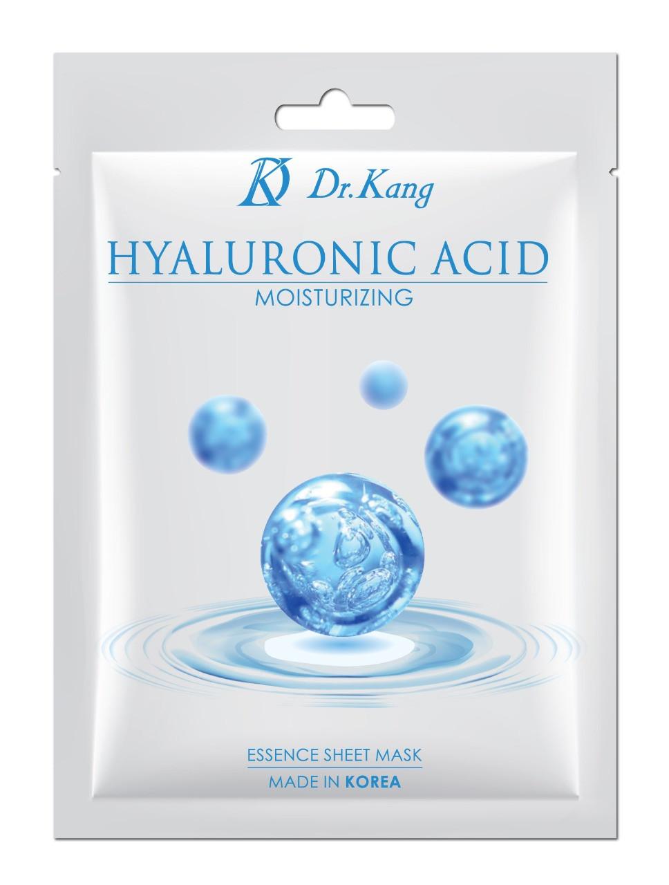 Dr.Kang Тканевая маска с гиалуроновой кислотой Hyaluronic Acid Essence Sheet Mask / Moisturizing