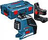 Линейный лазерный нивелир Bosch GLL 3-80 P + BM1 (новый) в L-Boxx