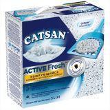 Catsan Комкующийся наполнитель Active Fresh, 5.2 кг
