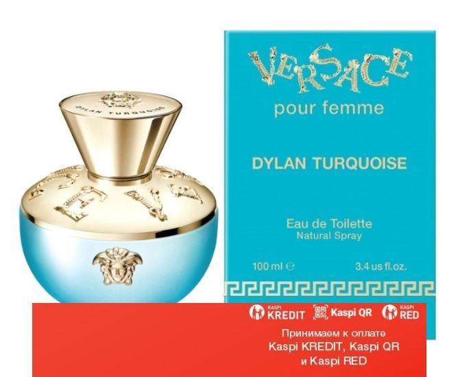 Versace Pour Femme Dylan Turquoise туалетная вода объем 100 мл тестер(ОРИГИНАЛ)