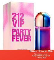 Carolina Herrera 212 VIP Party Fever туалетная вода объем 80 мл тестер(ОРИГИНАЛ)