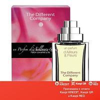 The Different Company Un Parfum D Ailleurs & Fleurs туалетная вода объем 90 мл (ОРИГИНАЛ)