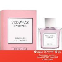 Vera Wang Embrace Rose Buds Vanilla туалетная вода объем 30 мл тестер (ОРИГИНАЛ)