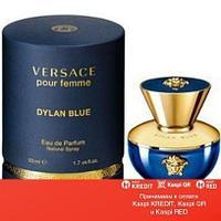 Versace Dylan Blue Pour Femme парфюмированная вода объем 100 мл тестер(ОРИГИНАЛ)