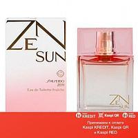 Shiseido Zen Sun Fraiche Woman 2013 туалетная вода объем 100 мл (ОРИГИНАЛ)