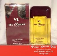 Ted Lapidus Vu par Ted Lapidus туалетная вода винтаж объем 60 мл без спрея (ОРИГИНАЛ)