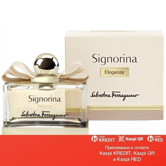 Salvatore Ferragamo Signorina Eleganza парфюмированная вода объем 100 мл тестер (ОРИГИНАЛ)