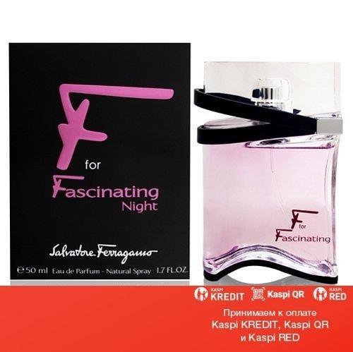 Salvatore Ferragamo F for Fascinating Night парфюмированная вода объем 50 мл тестер (ОРИГИНАЛ)