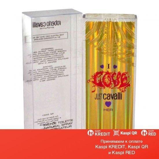 Roberto Cavalli Just Cavalli I Love Her туалетная вода объем 30 мл Тестер(ОРИГИНАЛ)