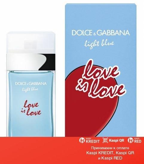 Dolce & Gabbana Light Blue Love Is Love Pour Femme туалетная вода объем 100 мл тестер (ОРИГИНАЛ)