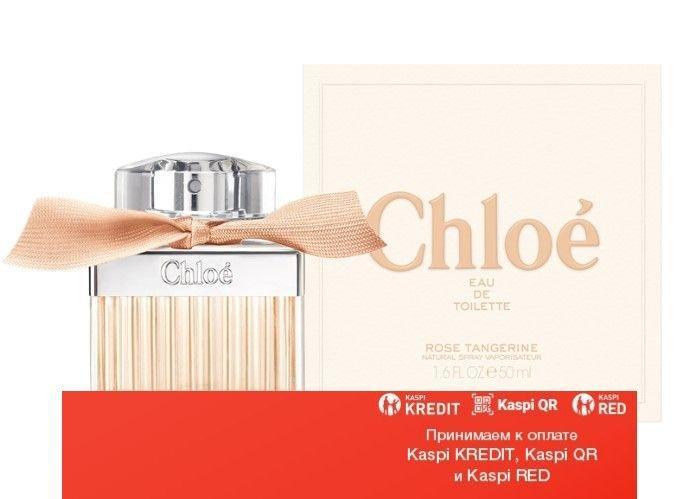 Chloe Rose Tangerine туалетная вода объем 75 мл тестер (ОРИГИНАЛ)