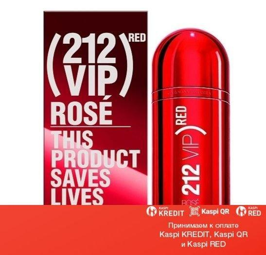 Carolina Herrera 212 VIP Rose Red парфюмированная вода объем 80 мл тестер (ОРИГИНАЛ)