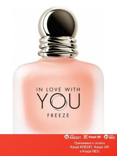 Giorgio Armani Emporio Armani In Love With You Freeze парфюмированная вода объем 100 мл тестер(ОРИГИНАЛ)