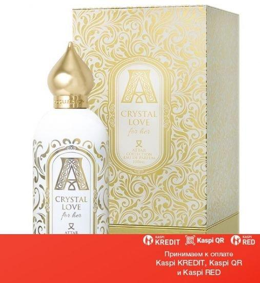 Attar Collection Crystal Love for Her парфюмированная вода объем 100 мл(ОРИГИНАЛ)