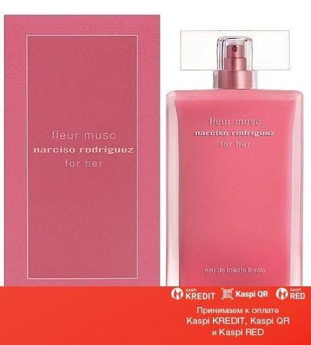 Narciso Rodriguez For Her Fleur Musc Eau De Toilette Florale туалетная вода объем 100 мл тестер(ОРИГИНАЛ)