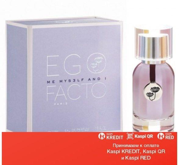 Egofacto Me Myself & I парфюмированная вода объем 50 мл тестер(ОРИГИНАЛ)
