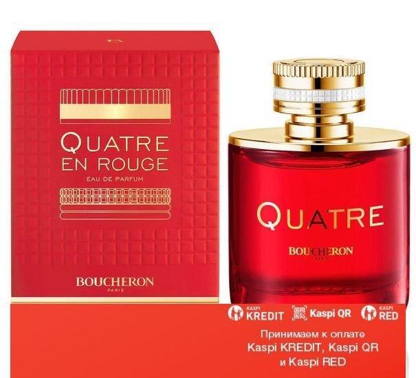 Boucheron Quatre En Rouge парфюмированная вода объем 100 мл тестер(ОРИГИНАЛ)