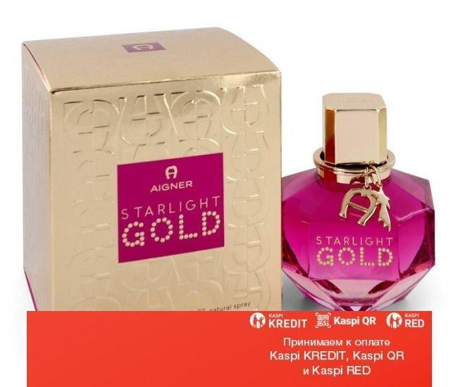 Aigner Starlight Gold парфюмированная вода объем 100 мл тестер(ОРИГИНАЛ)