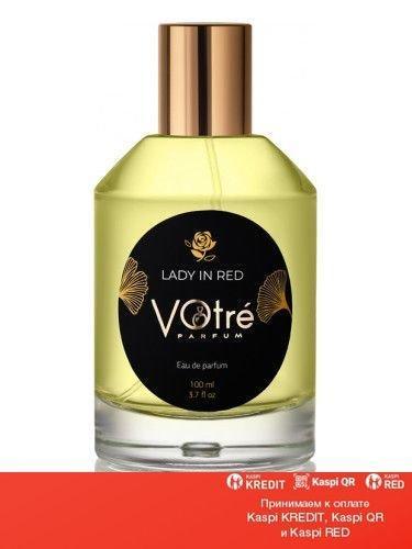 Votre Lady In Red парфюмированная вода объем 50 мл(ОРИГИНАЛ)