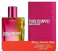 Zadig & Voltaire This Is Love! for Her парфюмированная вода объем 0,8 мл(ОРИГИНАЛ)