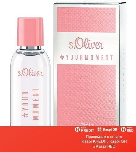 S.Oliver Your Moment Women туалетная вода объем 30 мл(ОРИГИНАЛ)