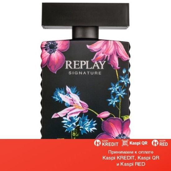 Replay Signature for Women парфюмированная вода объем 30 мл тестер(ОРИГИНАЛ)