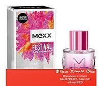 Mexx Festival Splashes Woman туалетная вода объем 20 мл(ОРИГИНАЛ)