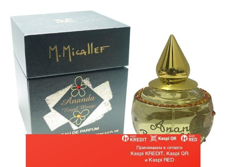M. Micallef Ananda Royal Mango парфюмированная вода объем 100 мл тестер(ОРИГИНАЛ)