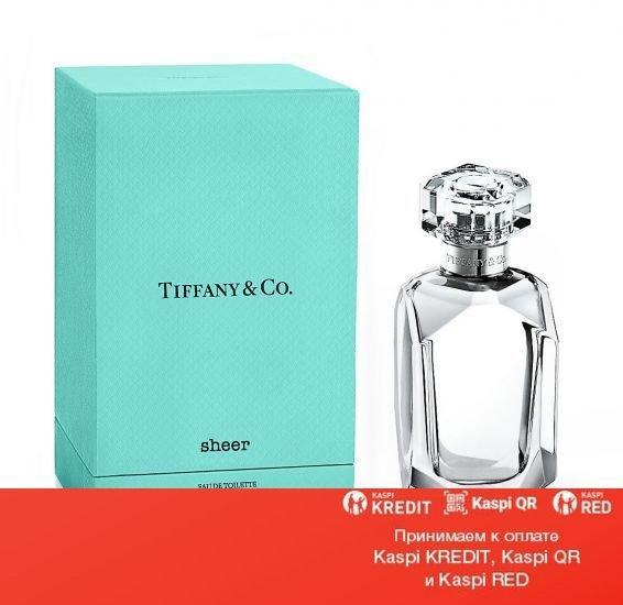 Tiffany Tiffany & Co Sheer парфюмированная вода объем 50 мл тестер(ОРИГИНАЛ)