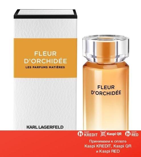 Karl Lagerfeld Fleur d'Orchidee парфюмированная вода объем 100 мл тестер(ОРИГИНАЛ)