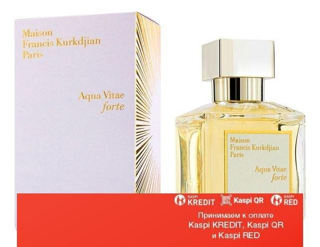 Maison Francis Kurkdjian Aqua Vitae Forte парфюмированная вода объем 11 мл (ОРИГИНАЛ)