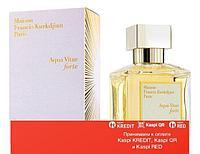 Maison Francis Kurkdjian Aqua Vitae Forte парфюмированная вода объем 3*11 мл(ОРИГИНАЛ)