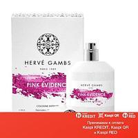 Herve Gambs Paris Pink Evidence парфюмированная вода объем 100 мл тестер(ОРИГИНАЛ)