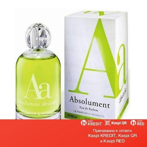 Absolument Absinthe парфюмированная вода объем 100 мл (ОРИГИНАЛ)