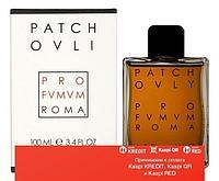 Profumum Roma Patchouly парфюмированная вода объем 100 мл тестер (ОРИГИНАЛ)