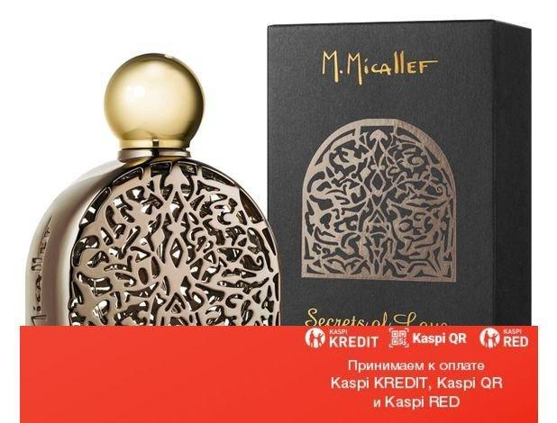 M. Micallef Secret of Love Gourmet парфюмированная вода объем 100 мл тестер (ОРИГИНАЛ)