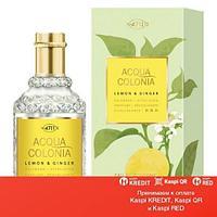 Maurer & Wirtz 4711 Aqua Colognia Lemon & Ginger одеколон объем 170 мл (ОРИГИНАЛ)