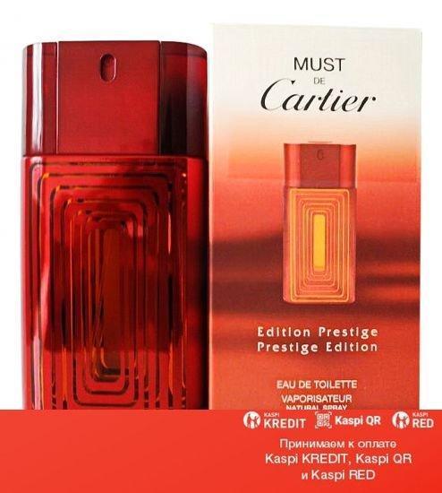 Cartier Must de Cartier Prestige Edition туалетная вода объем 100 мл тестер(ОРИГИНАЛ)