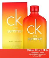Calvin Klein CK One Summer 2007 туалетная вода объем 100 мл тестер(ОРИГИНАЛ)