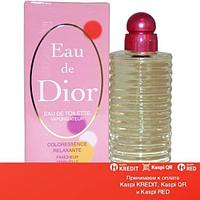 Christian Dior Eau de Dior Coloressence Relaxing туалетная вода объем 100 мл тестер(ОРИГИНАЛ)