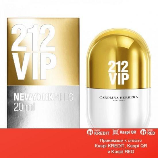 Carolina Herrera 212 VIP Pills парфюмированная вода объем 20 мл тестер(ОРИГИНАЛ)