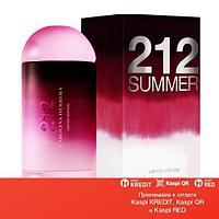 Carolina Herrera 212 Summer For Women туалетная вода объем 60 мл Тестер(ОРИГИНАЛ)